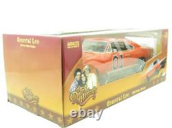 Autoworld Diecast AMM964 Dukes of Hazzard General Lee 1969 Dodge Charger 1.18