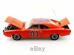 Autoworld Dukes of Hazzard General Lee 1969 69 Dodge Charger AMM964 118 Orange