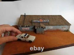 Boars nest dukes of hazzard Diorama scala 1/64 Patrol is a Gift! Look
