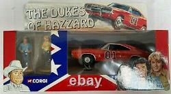 Corgi CC05301 Dukes of Hazzard Dodge Charger + Figures RARE 1/36 Excellent