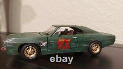 Custom 125 diecast LEE#1 General Lee Car Dukes of Hazzard Dodge Charger