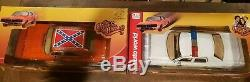DUKES OF HAZZARD 1/18 LOT General Lee Police Car Autoworld RC2 Authentics Dodge