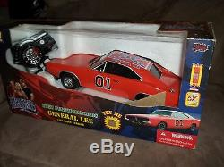 DUKES OF HAZZARD 1/18 SCALE RADIO CONTROL GENERAL LEE CAR 1969 DODGE CHARGER