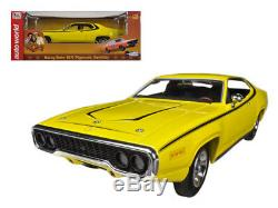 DUKES OF HAZZARD Daisy Dukes 1971 Plymouth Satellite 118 Scale AUTOWORLD
