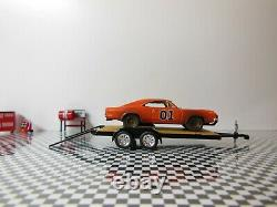 DUKES OF HAZZARD GENERAL LEE / 1969 Dodge Charger/ Tow Truck Hauler/ See Details