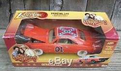 DUKES OF HAZZARD GENERAL LEE Dodge Charger WHITE LIGHTNING CHASE Mopar Flag