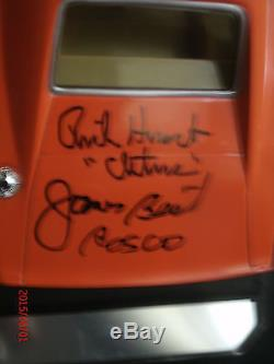 DUKES OF HAZZARD General Lee #1 Autographed by 8 Psa/Dna Document Very Unique