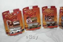 DUKES OF HAZZARD JOHNNY LIGHTNING R5 SET OF 6 RARE With COOTER'S TOW TRUCK +++