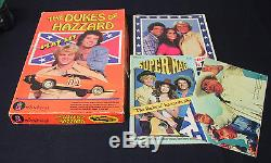 DUKES OF HAZZARD LOT COLORFORMS PLAY SET VINTAGE COMPLETE PIECES BOX NO BOOKLET