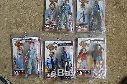 DUKES OF HAZZARD SERIES 2 8 INCH ACTION FIGURES SET OF 5 FIGURES. FIGURES TOY
