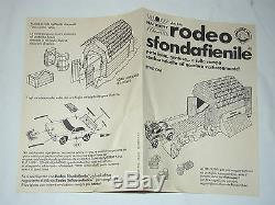 DUKES of HAZZARD RODEO STUNTBUSTER STUNT SET KNICKERBOCKER HARBERT MINT/BOX