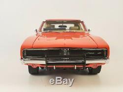 Danbury Mint 1969 Dodge Charger R/T General Lee 01 Dukes of Hazzard 124