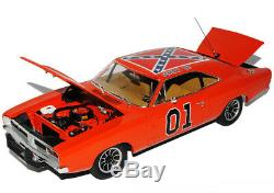 Dodge Charger 1969 Dukes of Hazzard General Lee Orange High Quality 1/18 Green