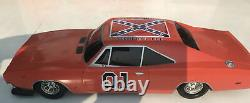 Dodge Charger Dukes Of Hazard General Lee Rc Car As Is No Remote 19 Inches