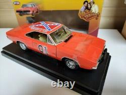 Dodge Charger Dukes of Hazzard General Lee 118 scale Boxed Joyride Ertl
