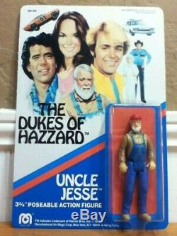 Dukes Hazzard General Lee Mego Figure Uncle Jesse 1/24 Truck Case Autograph Lot