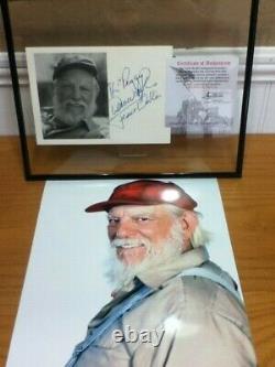 Dukes Hazzard General Lee Uncle Jesse 1/24 Diecast Ford Truck Case Autograph Lot