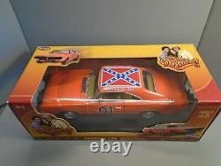 Dukes Of Hazzard 118 Diecast General Lee 69 Dodge Charger Bo And Luke Box Rare