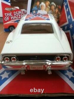 Dukes Of Hazzard 118 Ertl Dodge Charger White Lightning Prototype General Lee