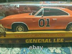 Dukes Of Hazzard 1969 Charger General Lee 118 Scale With Lights And Sounds New