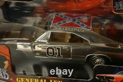 Dukes Of Hazzard 1969 Dodge Charger General Lee Chrome Chase car Joyride 118