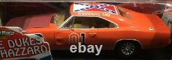 Dukes Of Hazzard 1969 Dodge Charger Race Day General Lee Ertl Primer Hood Rare