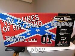 Dukes Of Hazzard 2001. Ertlamerican Muscle1/18 General Leediecastbodyshop