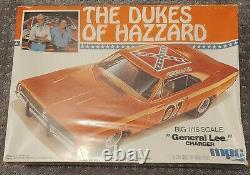 Dukes Of Hazzard Big 116 Plastic Model General Lee Still in Box