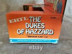 Dukes Of Hazzard General Lee 1981 Ertl 1969 Dodge Charger 1/25 Scale 1791