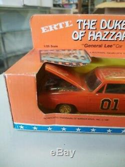 Dukes Of Hazzard General Lee 1981 Ertl 1969 Dodge Charger 1/25 Scale Misb