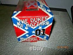 Dukes Of Hazzard General Lee Car Ertl Diecast 125 Scale NEW Flag Box NRFB