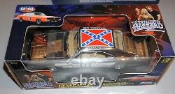 Dukes Of Hazzard General Lee Chrome 1969 Charger Joy Ride 1/18 New In Box