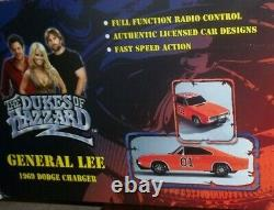 Dukes Of Hazzard Rc General Lee Car 1/10 1969 Dodge Charger Works In Box Rare