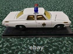 Dukes Of Hazzard Roscoe P Coltrane Sheriff Car Dodge Ertl Joyride 1/18 No Box