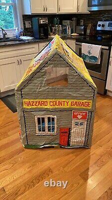 Dukes Of Hazzard Service Garage Tent Ultra Rare