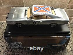 Dukes Of hazzard Chrome General Lee 1969 Dodge Charger 118 NIB