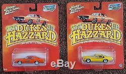 Dukes of Hazzard 19 Car Lot 6 White Lightning General Lee/Monster Truck/More