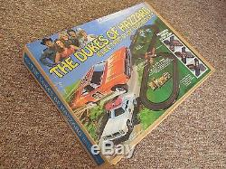 Dukes of Hazzard 1981 Electric Slot Racing Track Set With Cars SEALED