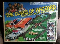 Dukes of Hazzard 1981 IDEAL Slot Car Track Brand New in Box