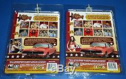 Dukes of Hazzard 8 Inch Action Figure Set Exclusive Daisy Bo Luke Duke Racer