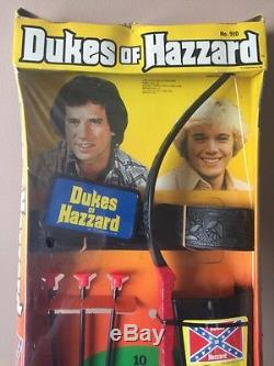 Dukes of Hazzard ARCHERY Playset HG Toys Super Rare Sealed In Factory Cello Wow