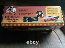 Dukes of Hazzard Auto World Silver Screen 1969 Charger General Lee 1/18 Scale