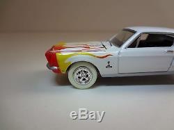 Dukes of Hazzard Cooter's Mustang Preproduction Johnny White Lightning 1/64