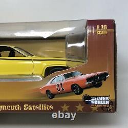 Dukes of Hazzard Daisy Duke 1971 Plymouth Satellite Auto World 1/18 Scale with Box