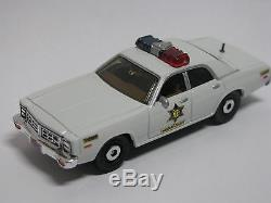 Dukes of Hazzard Deputy Enos Strate Patrol Car Dodge Monaco Custom Diecast 4/20