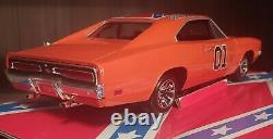 Dukes of Hazzard General Lee 118 Very Rare 1st Edition Florida License Plate