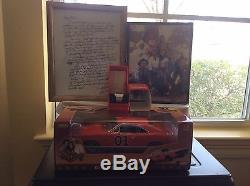 Dukes of Hazzard General Lee 1969 Dodge Charger Diecast With Flag