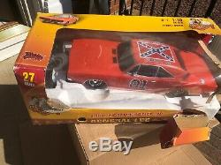 Dukes of Hazzard General Lee 1969 Dodge Charger RC 110 27mhz Damaged Open Box
