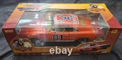 Dukes of Hazzard General Lee Auto World 1969 Charger 118 Scale Unopened