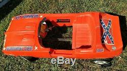 Dukes of Hazzard General Lee Coleco Electronics Pedal Car 1980's